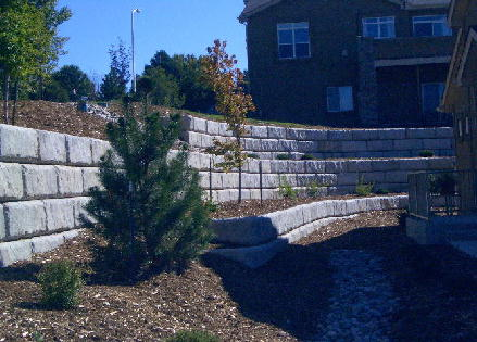 Harvest Ridge Retaining Wall